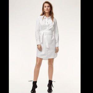 Aritzia Babaton Tilney Dress White Size Small